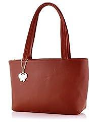 Butterflies Women's Handbag (Maroon)(Bns 0539 Mrn)