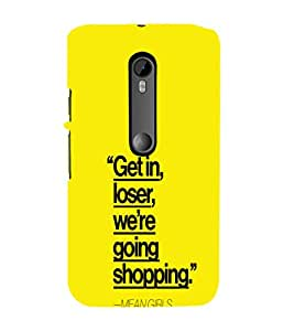Ebby Premium Printed Mobile Back Case Cover With Full protection For Moto G Turbo Edition (Designer Case)