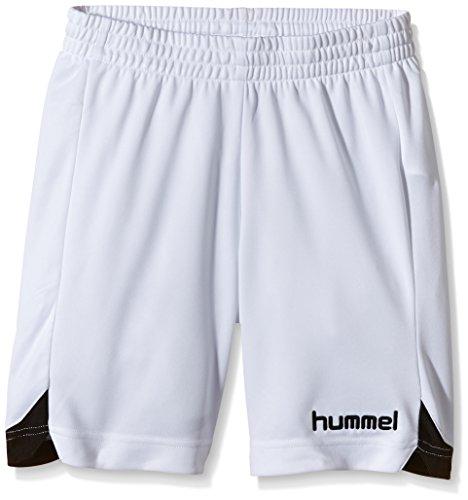 Hummel, Pantaloncini sportivi Roots Bambino, in poliestere, Bianco (White), 14 - 16