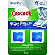 Procter & Gamble 85840 Cascade Dishwasher Cleaner-2CT DISHWASHER CLEANER