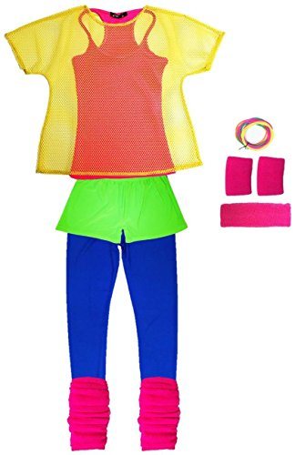 80s Neon Outfit for women