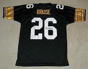 Signed Paul Krause Jersey - Iowa Hawkeyes #26 - JSA Certified - Autographed NFL... by Sports+Memorabilia