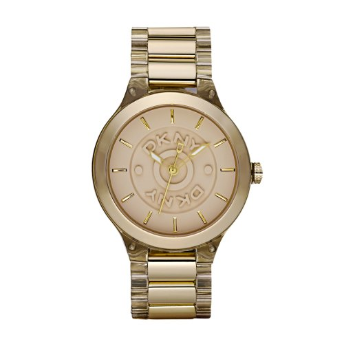 DKNY Gold Plated Ladies Watch - NY8168