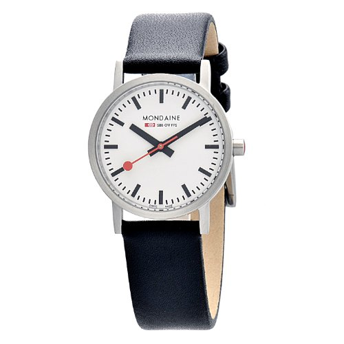 Mondaine Men's Quartz Watch A658.30323.16SBB with Leather Strap