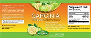 Garcinia Cambogia Advanced -Fast Weight Loss PLUS Gain Much Needed Energy