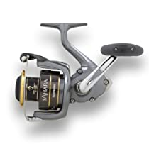 Shimano Sahara Spinning Fishing Reel, 8/240, 10/200, 12/160, Left/Right-Hand, Silver