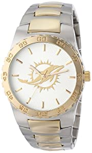 Game Time Mens NFL-EXE-MIA Miami Dolphins Watch by Game Time