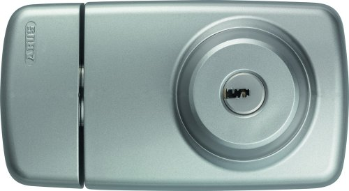 Tür-Zusatzschloss 7025 S silber mit beidseitigem Zylinder 53296