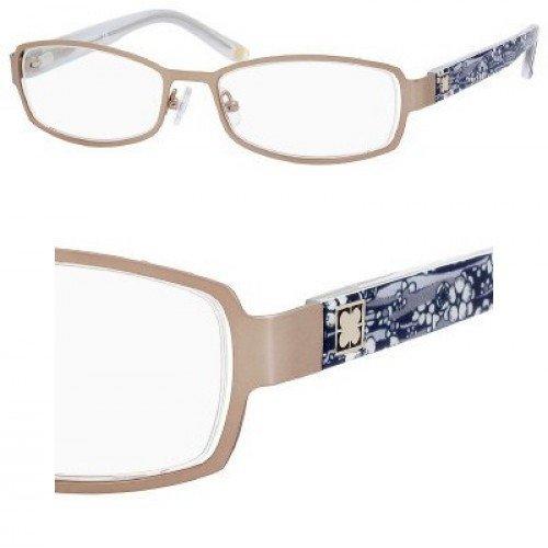 Liz Claiborne 378 Eyeglasses (0RC8) Almond Floral,
