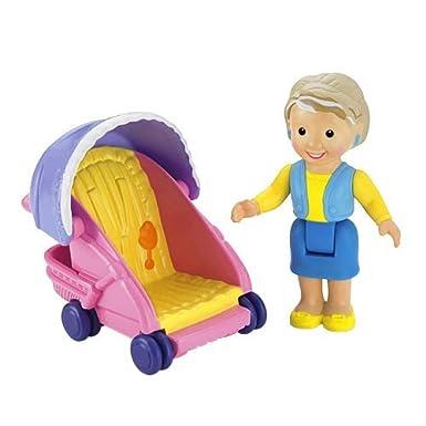 Fisher Price My First Dollhouse - Grandma & Stroller