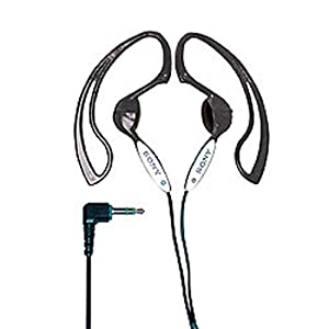 Sony MDR-J10 h.ear Headphones with Non-Slip Design (Black)