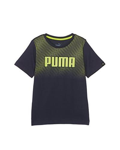 Puma Camiseta Manga Corta Is Boys Graphic Negro