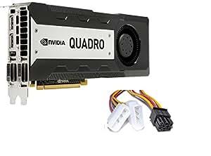 Amazon.com: Nvidia Quadro K6000 12GB GDDR5 PCIe 3.0 x16 GPU Kepler