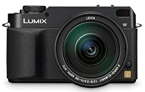 Panasonic DMC-L1 7.5MP Digital SLR Camera with Leica 14-50mm f2.8-3.5 Mega O.I.S. Lens
