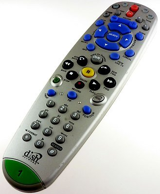 Dish Network 5.0/5.3/5.4 IR Infrared DVR TV1 Remote Control (Dish Dvr 625 compare prices)