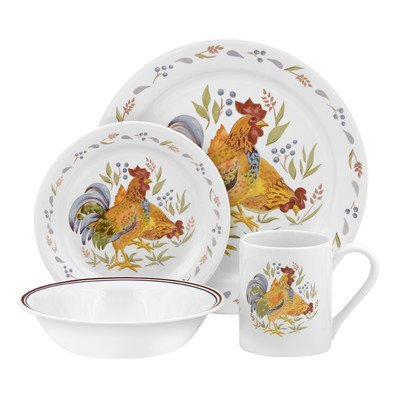 Impressions Country Morn 16 Piece Dinnerware Set