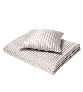 tafetta satin streifen gesteppte moderne doppelbett. Black Bedroom Furniture Sets. Home Design Ideas