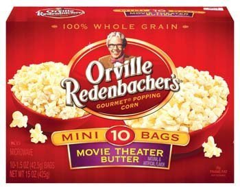 Orville Redenbacher'S Movie Theater Butter Microwave Popcorn Single Serve Bags- 10 Ct