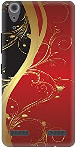 The Racoon Grip Red Haze hard plastic printed back case / cover for Lenovo A6000 Plus
