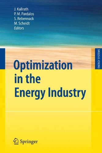Optimization In The Energy Industry (Energy Systems)
