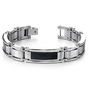 Amazon.com: Bold & Beautiful Mens Stainless Steel Carbon