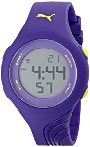 PUMA Women's PU911092004 Twist S Purple Sport Watch