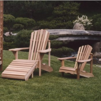 ATC - CA14u Child Adirondack Chair - Clear Grade A - Western Red Cedar