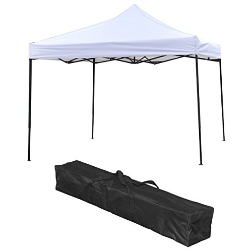 10-x-10-FT-Straight-Leg-Instant-EZ-Pop-Up-Outdoor-Canopy-Gazebo-Party-Wedding-Folding-Tent-with-Carrying-Bag