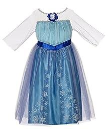Disney Frozen Enchanting Dress - Elsa, 4-6X