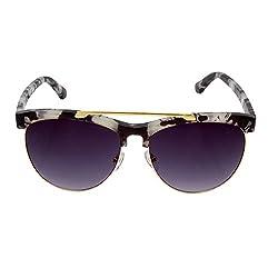 Zins Black Panto Sunglasses ( ZS 1872 C6 )