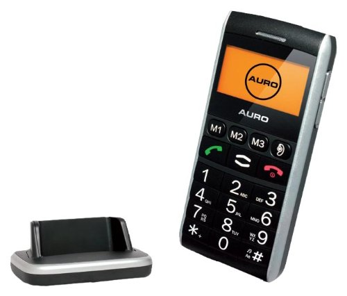 Auro M 101 Grosstasten Mobiltelefon Bel. Tast. Fre