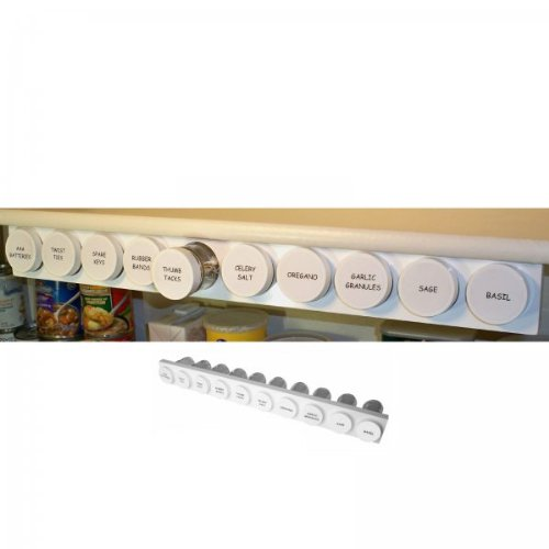 Under Cabinet Spice Rack - Spices Right at Your Finger Tips ...