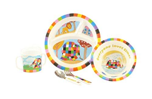 Kids Preferred Elmer Melamine Set (Discontinued by Manufacturer)