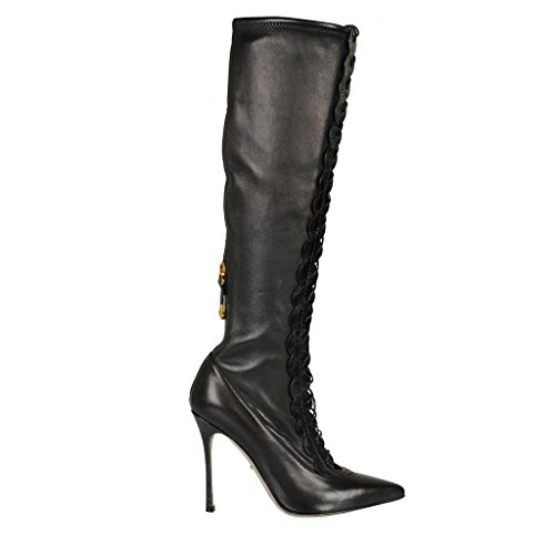 sergio-rossi-leather-croc-skin-trimmed-high-heel-boots-shoes-us-10-it-40
