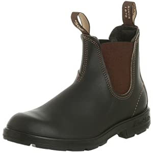 Blundstone 500 Slip On Boot,Stout Brown,AU 10 M (US Men's 11 M)