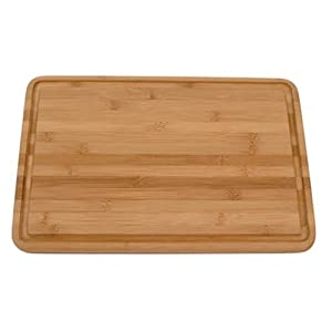 Totally Bamboo Malibu Groove Flat Grain Cutting Board