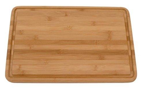 Totally Bamboo Malibu Groove Flat Grain Cutting Board