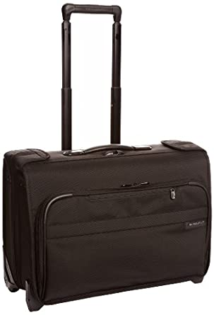 Briggs & Riley @ Baseline Luggage Baseline Carry-On Wheeled Garment Bag, Black, Small