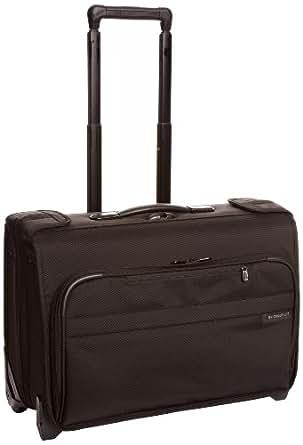 Briggs & Riley @ Baseline Luggage Baseline Carry-On Wheeled Garment Bag, Black, Small