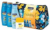 Nivea Sun Holiday Sunshine Bag With Protect & Bronze SPF20, Protect & Bronze SPF30, Pocket Size SPF30 and Moisturising After Sun