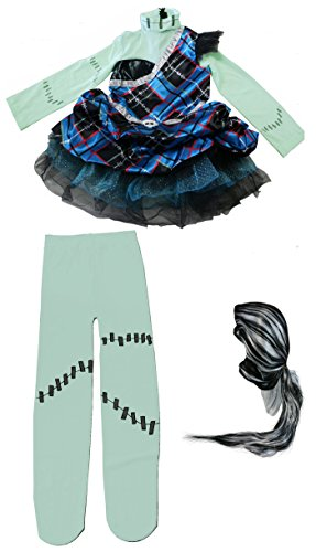 Rubies Monster High Deluxe Frankie Stein Costume [880991]