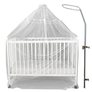 Moustiquaire pour berceau moustiquaire berceau sur - Baldaquin pour lit bebe ...
