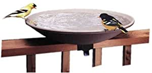 API 645 Unheated Bird Bath Bowl with Tilt-to-Clean Deck Rail Mounting Bracket (Discontinued by Manufacturer)
