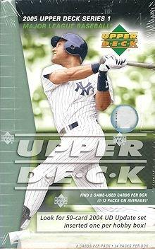 2005 Upper Deck 1 Baseball box (24 pk HOBBY)