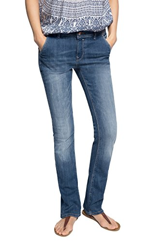 EDC Women - Skin bootcut, Jeans da donna, blu (blau  (blue medium wash 902)), W31/ L32