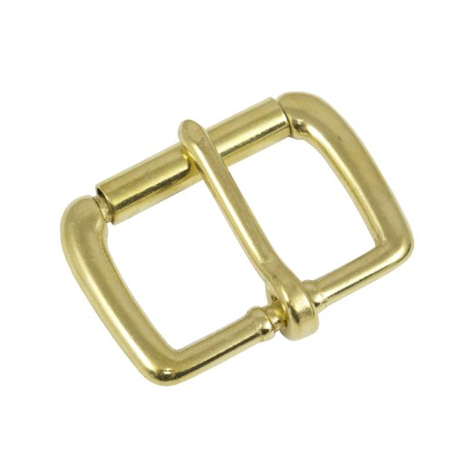 """Springfield Leather Company 1 1/2"""" Solid Brass Roller Buckle"""