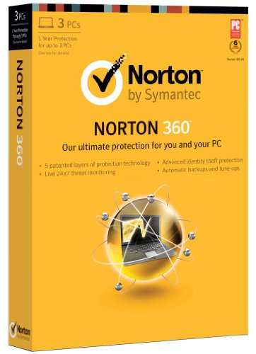 Norton 360 2013 - 1 User / 3 PC
