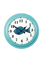 Novità Home Reloj De Pared Big Fish Fresh