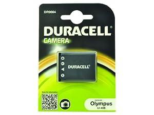 Duracell DR9664 Batterie pour Appareil Photo Numérique Olympus li-40B