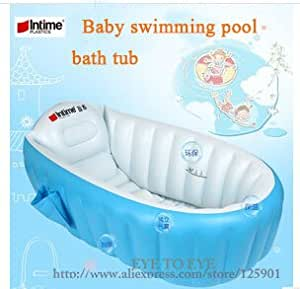 newborn baby swimming pool inflatable bathtub child swimming poo. Black Bedroom Furniture Sets. Home Design Ideas